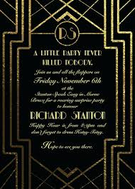 great gatsby invitat simple party invitation template free stunning templates inspirational speakeasy invitation template free