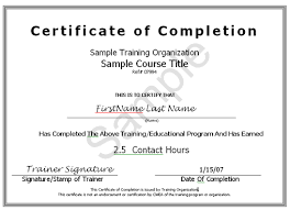 Certificate Of Completion Ojt Template 1 The Best And