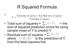 9 r squared formula