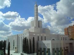 Resultado de imagen de Imagenes del templo mormon de madrid