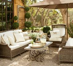 patio furniture pottery barn. all weather wicker 1 patio furniture pottery barn o