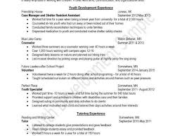 Working With At Risk Youth Cover Letter Cover Letter For Child And Youth Worker Resume Writing Tips From