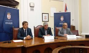 the third round table on the public debate about the amendments to the serbian constitution which are to affect the judiciary took place today