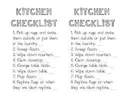 restaurant kitchen equipment list. Restaurant Kitchen Closing Checklist Station Task List Equipment