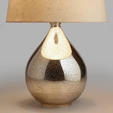 mirror lamp. martina aged mirror table lamp base