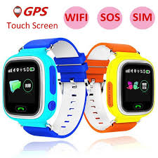 tuoch mobile child gps smart watch with wifi touch screen children smartwatch sos