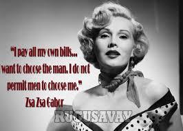 Zsa Zsa Gabor Quotes Adorable Zsa Zsa Gabor Quotes Enchanting Zsa Zsa Gabor Quotes With Pictures