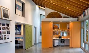 barn doors for homes interior. Orange Modern Sliding Barn Doors For Office Space Homes Interior