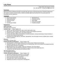 Retail Resume Objective Examples Best Retail And Restaurant Associate Resume Example Livecareer