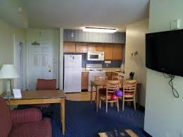 Living Room Kitchen Facing the Door Picture of Residence Inn