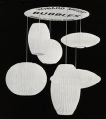 george nelson bubble lamp. From A Howard Miller Sales Brochure, Circa 1968: George Nelson Bubble Lamp S