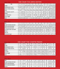 Choir Robe Size Chart Churchsuits Com Size Chart