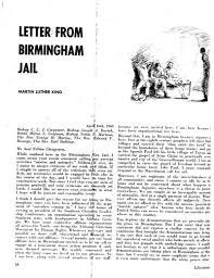 mlk s letter from a birmingham jail full text  martin luther king birmingham jail essay letter from a birmingham jail by martin luther king jr