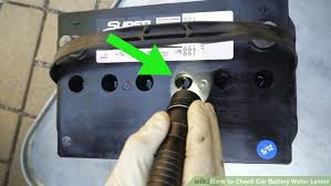 How To Check Car Battery Water Levels With Pictures Wikihow