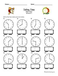 Clock Worksheets | Have Fun Teaching