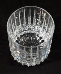 crystal old fashioned glasses vintage set of ten astral s