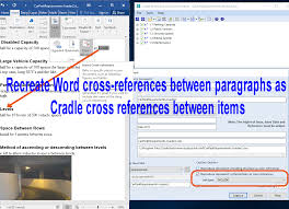 Documents Links As Cross References 3sl Blog