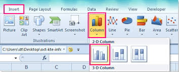 How To Insert A Chart With Data Non Contiguous In Excel
