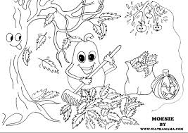 Versje Moederdag Peuters Kleurplaat Intended Dejachthoorn