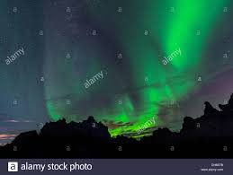 How Is The Northern Lights Formed Dimmuborgir Lava Formation Northern Lights Aurora Borealis