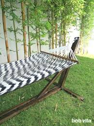 hammock stand diy hammock stand detail shot diy wood hammock chair stand