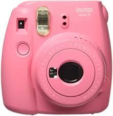 Fujifilm Instax Mini 9 Instant Camera, Flamingo Pink ... - Amazon.com