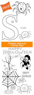 Get These Free Halloween Printable Coloring