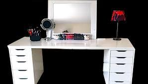makeup desk ikea alex maxresdefault collection storage