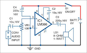 circuit diagram gsm mobile signal booster unique lm386 based audio amplifier of 43 inspirational circuit diagram