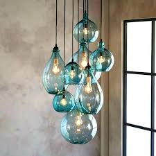 hand blown glass lighting fixtures hand blown glass pendant lamp throughout hand blown glass pendant lights