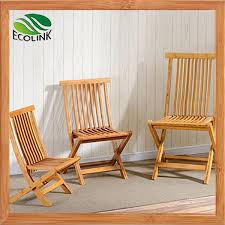 natural bamboo wooden outdoor furniture fishing folding chair