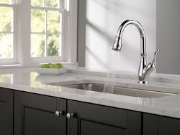 Delta Pull Down Kitchen Faucet Faucetcom 9178 Ar Dst In Arctic Stainless By Delta