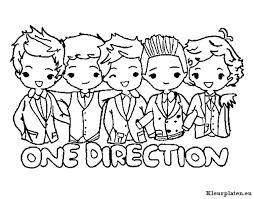 One Direction Kleurplaten Kleurplateneu