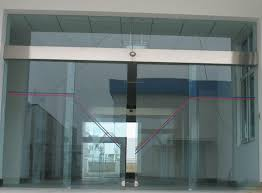 automatic sliding door with sensor combinedmotionandpresencedetector forautomaticslidingdoors