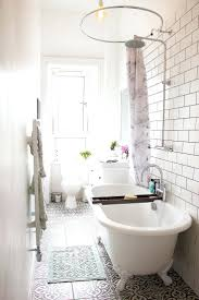gallery pictures for tiny bathrooms with major chic factor corner bath shower curtain rod