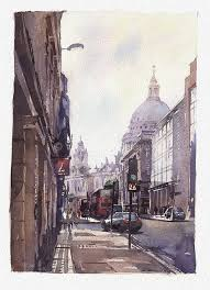london st paul cathedral1 150x150 fine art of watercolor