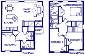 26 X 40 Cape House Plans  Second Units Rental Guest House Vacation Home Floor Plans