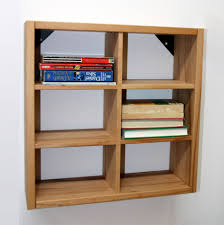 26 Cd Regal 47x47x15cm Kernbuche Massiv Ge Lt Bücherregal