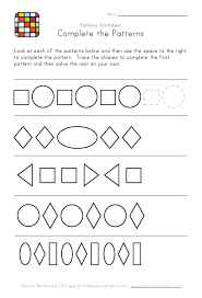 Pattern Activities For Preschoolers Awesome Preschool Patterns Abab Pattern Worksheet Codefact