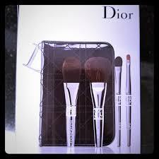 dior make up foundation eyeshadow lip brush set
