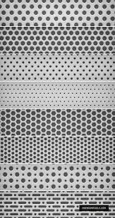無料クールな8種類のパンチングメタルシームレスパターン素材pat