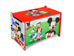 Mickey Mouse Clubhouse Bedroom Furniture Delta Mickey Mouse Toy Box Kmart
