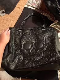 loungefly skull purse bag