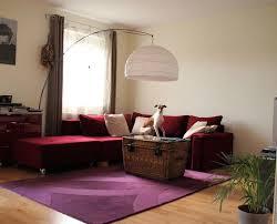 Wohnzimmer Gestalten Rote Couch Die Stilvolle Wohnlandschaft