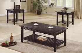 deep espresso finish 3pc stylish coffee table set wdrawers oval e5f532569e8f81d3626f552545b