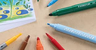 Staedtler Triplus Color Chart Fibre Tip Pens Staedtler