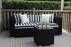 Wonderful Black Wicker Outdoor Furniture  Furniture Design IdeasBlack Outdoor Wicker Furniture