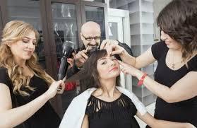 makeup stylists help make salon customers feel beautiful