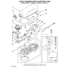 kitchenaid 5 quart plus pro parts diagram kitchenaid 5 quart kitchenaid 5 quart plus pro parts diagram