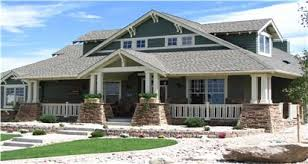 Architectural home design Beautiful Home In The Arts Crafts Architectural Style With Wraparound Porch Tapered Square Columns The Plan Collection Architectural House Plans By Style The Plan Collection